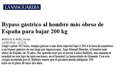 cirugía obesidad CLB, doctor Ballesta