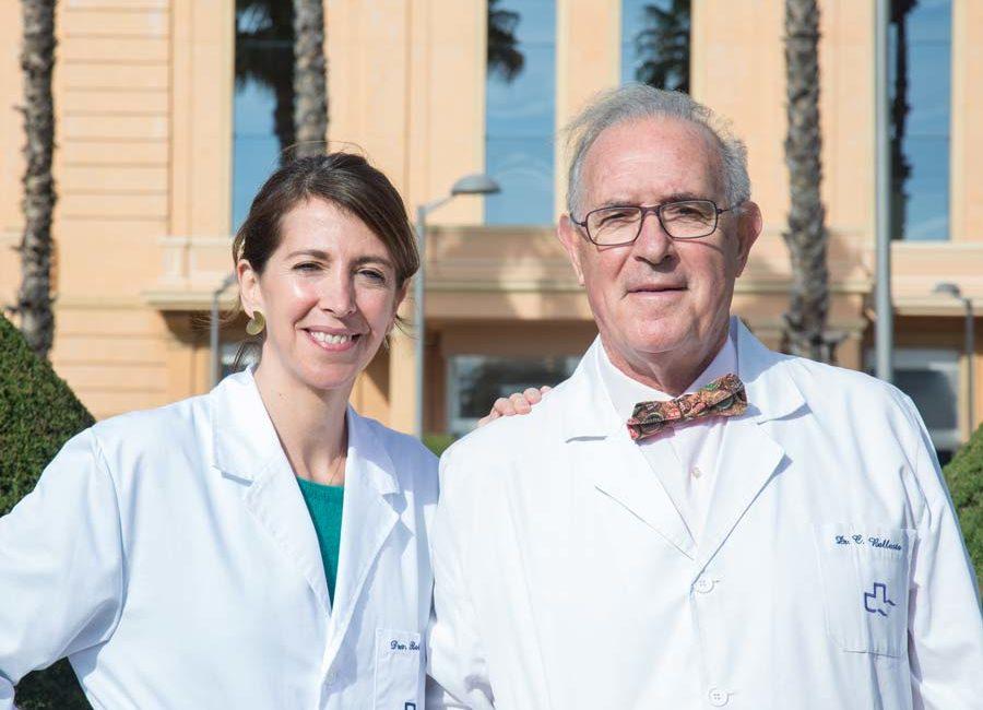 Dra. Ballesta Ferrer y Dr. Ballesta